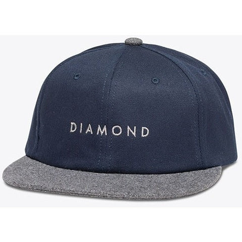Diamond Supply Co Leeway Unstructured Snapback
