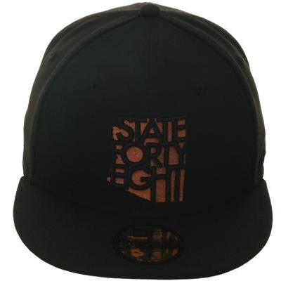 Exclusive New Era 59Fifty State Forty Eight Classic Hat - Black, Copper