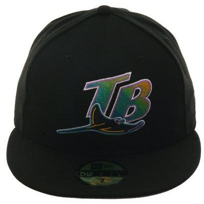 Exclusive New Era 59Fifty 1998 Devil Rays Hat - Black