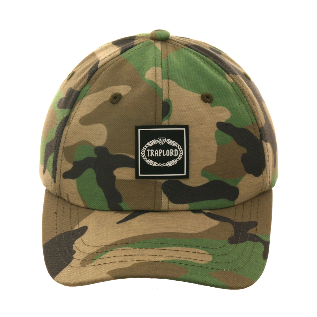f15a17d0547 Trap Lord Crest Box Dad Hat - Camouflage – Exquisite Streetwear Shop