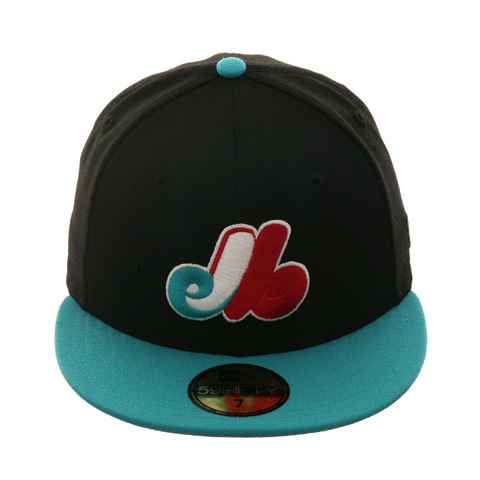 3b6737a511d Exclusive New Era 59Fifty Montreal Expos Hat - 2T Black
