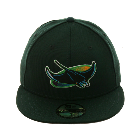 Exclusive New Era 59Fifty Tampa Bay Devil Rays Hat - Green
