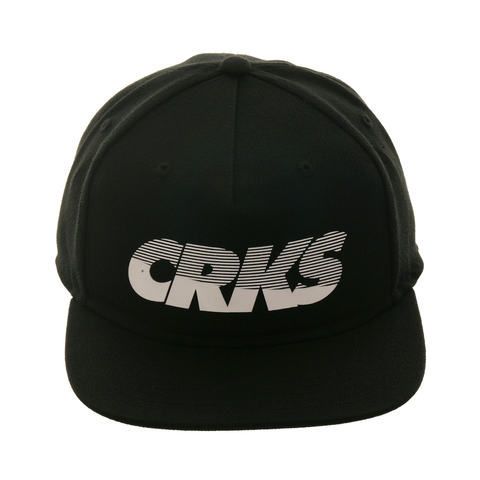 Crooks & Castles Crookstech Snapback Hat - Black, White