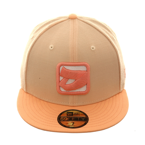 New Era 59Fifty Dionic Logo Hat - Apricot , Coral