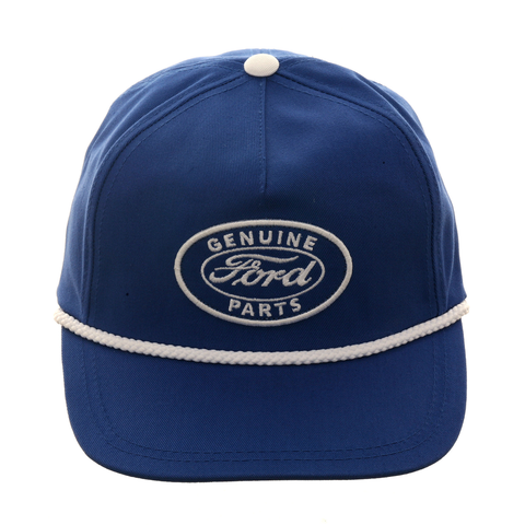 American Needle Cappy Ford Snapback Hat - Royal , White