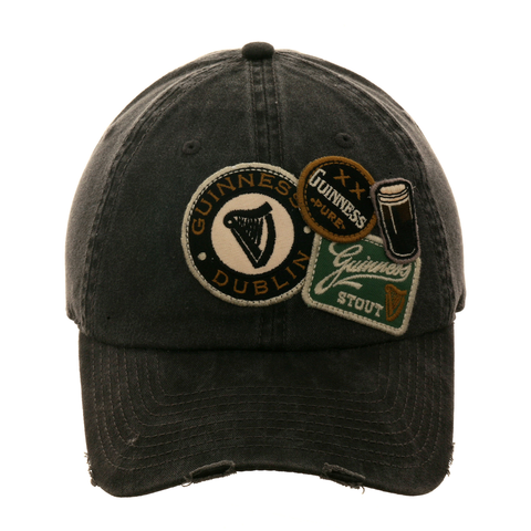 American Needle Iconic Guinness Dad Hat - Black