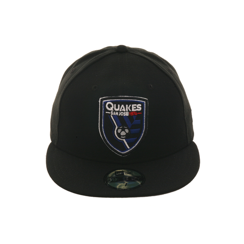 Exclusive New Era 59Fifty San Jose Earthquakes Hat - Black