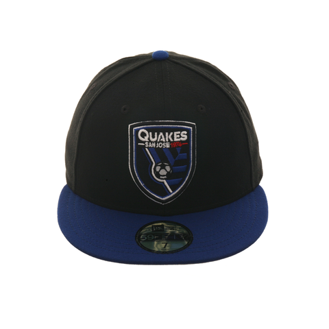 Exclusive New Era 59Fifty San Jose Earthquakes Hat - 2T Black, Royal