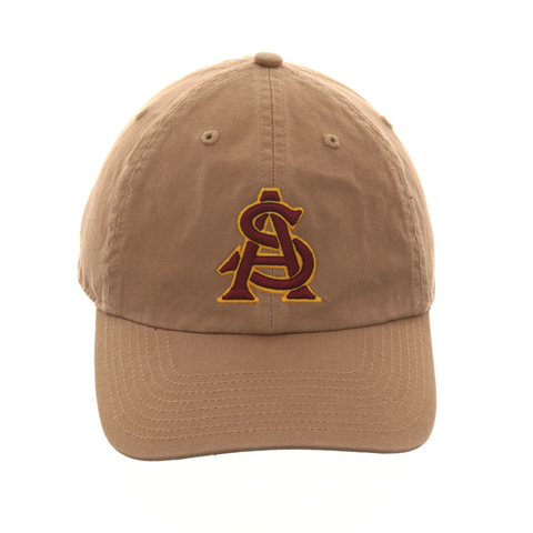 47 Brand Cleanup Arizona State Sun Devils AS Adjustable Hat - Khaki