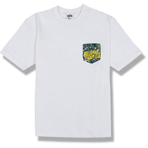 Billionaire Boys Club Camo Pocket T-Shirt White