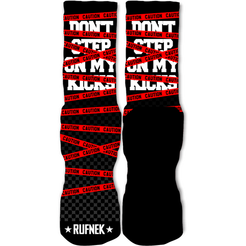 Rufnek Hardware Caution 72-10 11's Socks