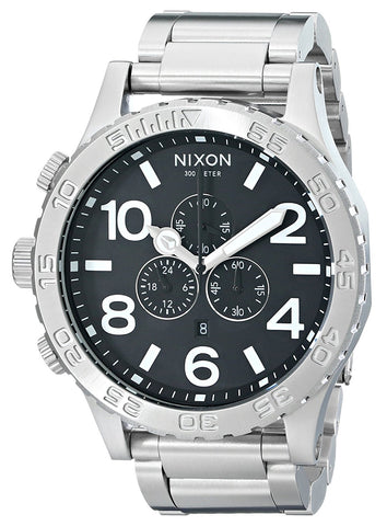 Nixon Men's 51-30 Chronograph Stainless Steel Watch