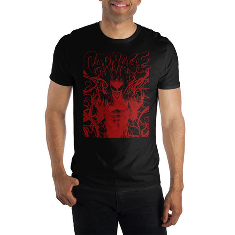 Carnage Marvel Comics Men's Packaged Shirt