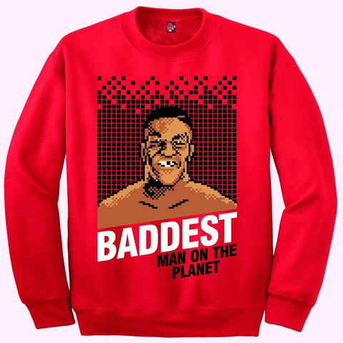 The Fresh I Am Clothing Baddest Man Win Like 96 11s Crewneck