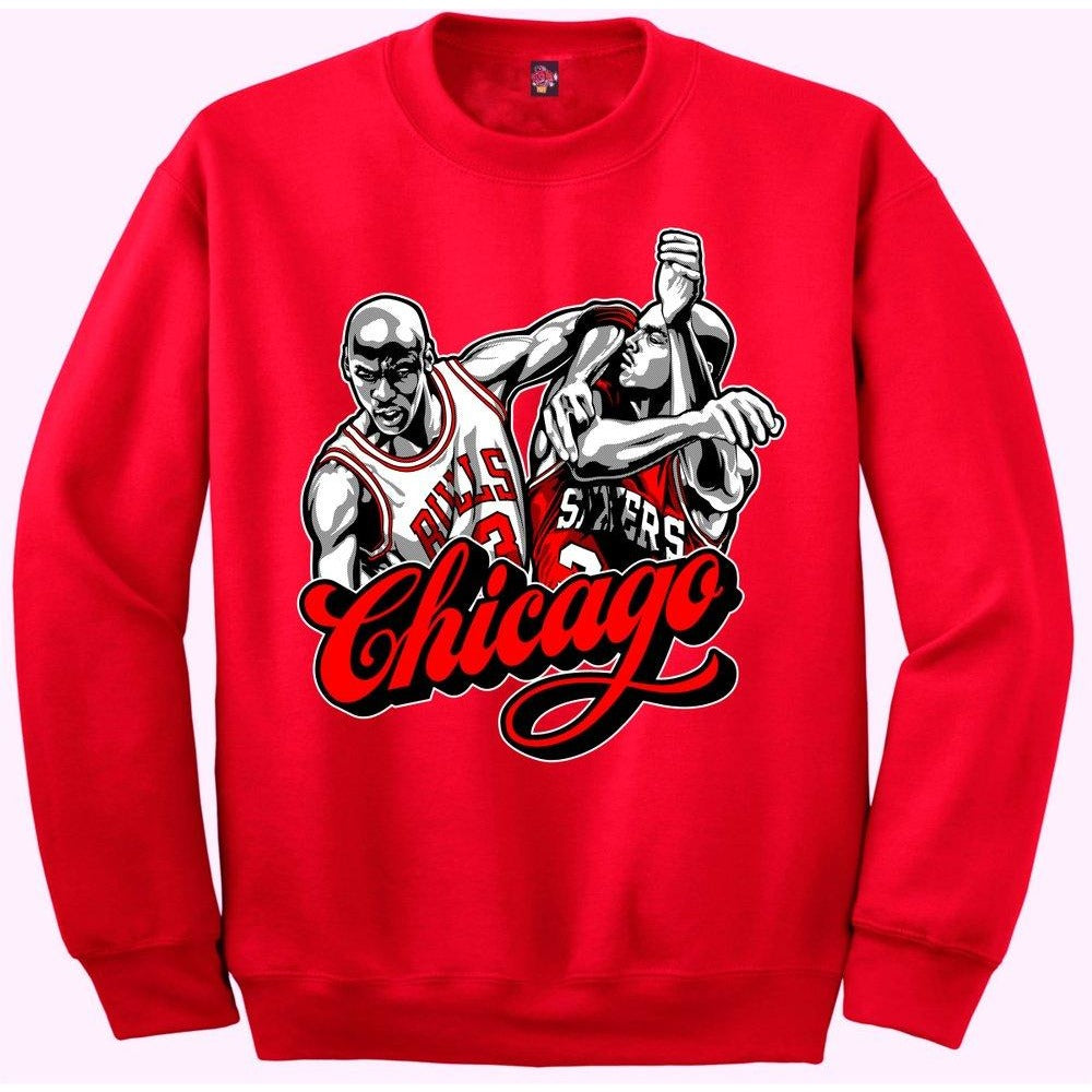 d7a84cfd91f009 The Fresh I Am Clothing Chicago Win Like 96 11s Crewneck – Exquisite  Streetwear Shop