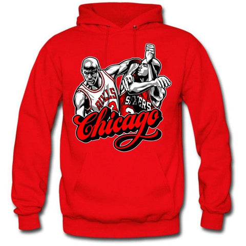 The Fresh I Am Clothing Chicago Win Like 96 11s Hoodie
