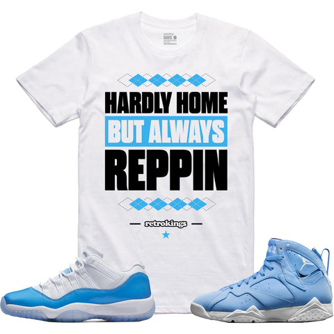 Retro Kings Clothing Always Reppin' Columbia 11s Tee