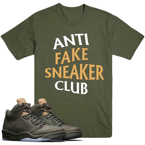 Dapper Sam Anti Fake Take Flight 5s Tee