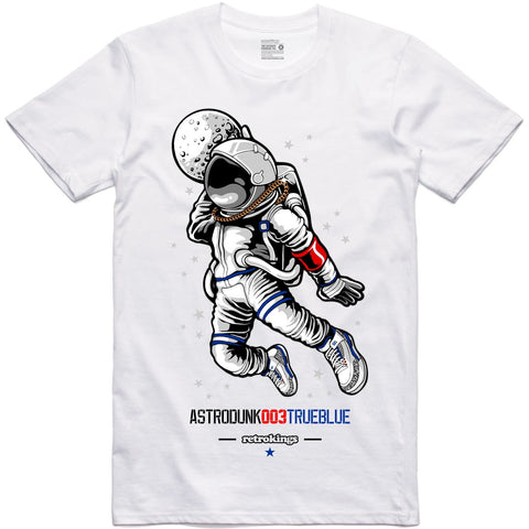 Retro Kings Clothing Astrodunk True Blue 3's Tee