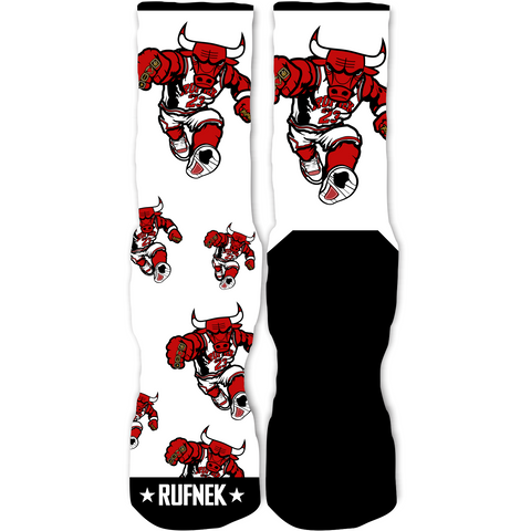 Rufnek Hardware In Yo Face Alternate 4s Socks