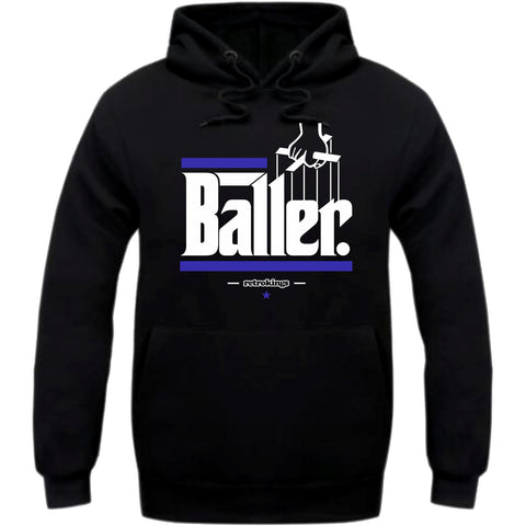 Retro Kings Clothing Baller Space Jam 11's Hoodie