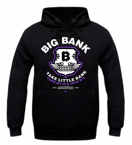 Retro Kings Clothing Big Bank Concord 11s Hoodie