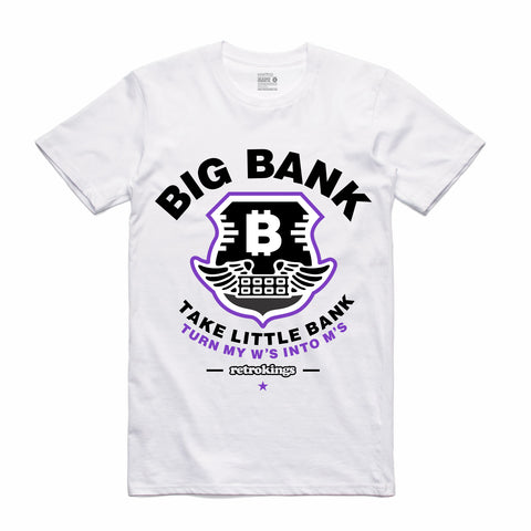 Retro Kings Clothing Big Bank Concord 11s Tee