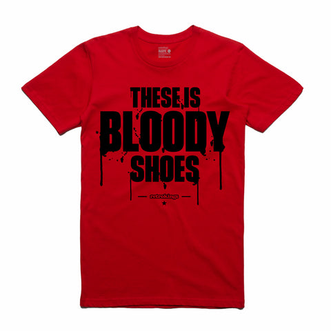 Retro Kings Clothing Bloody Shoes Gym Red 12s Tee