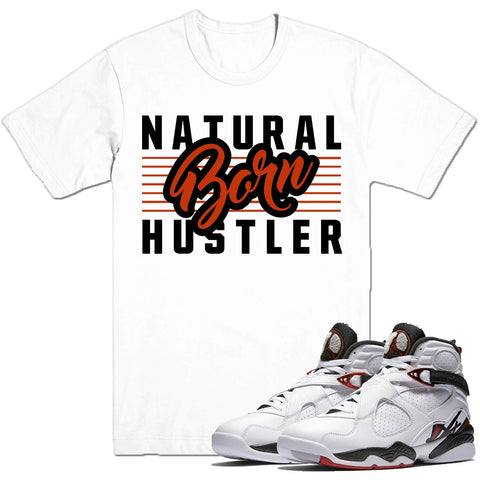 Dapper Sam Born Hustler Alternate 8s Tee