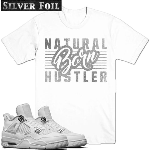 Dapper Sam Born Hustler Pure Money 4s Tee