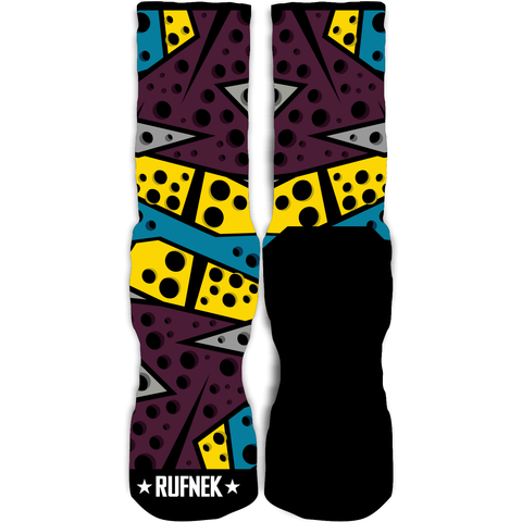 Rufnek Hardware Seven Bordeaux 7's Socks