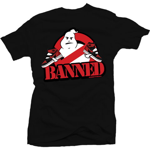 Bobby Fresh Ghost Banned 1's Tee