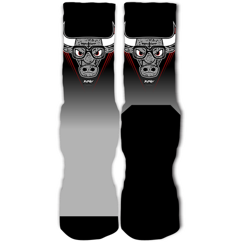 Rufnek Hardware Bully Metallic 5's Socks