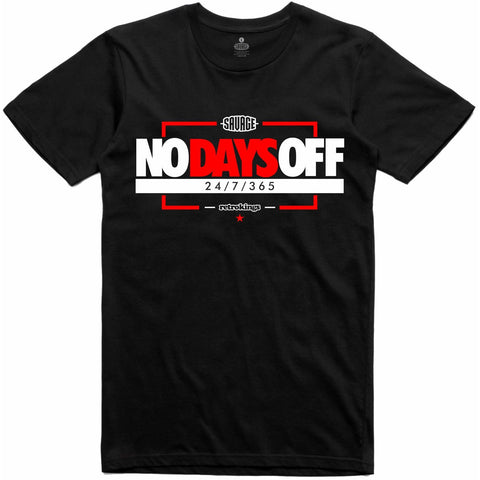 Savage X The Retro Kings Collab No Days Off Tee