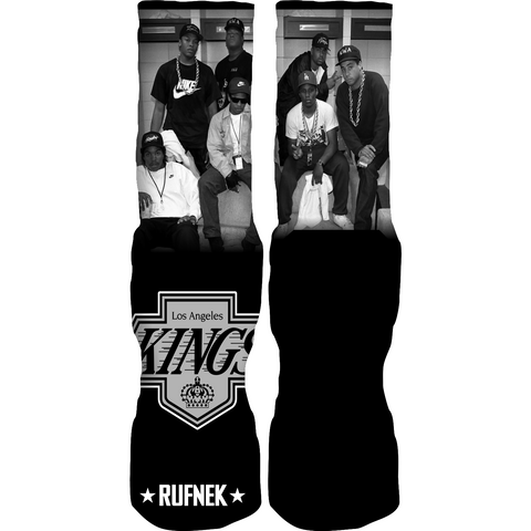 Rufnek Hardware LA Kings Chrome 6 Socks