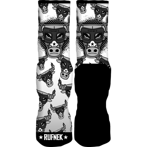 Rufnek Hardware War Bully Chrome 6 Socks