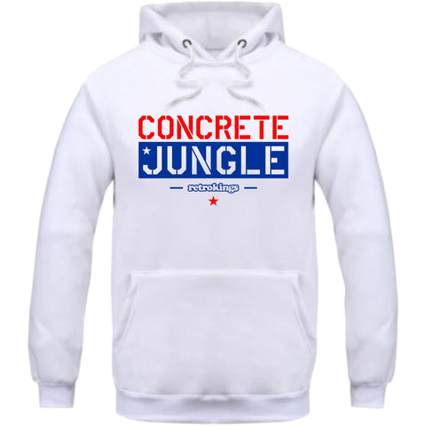 Retro Kings Clothing Concrete Jungle True Blue 3's Hoodie