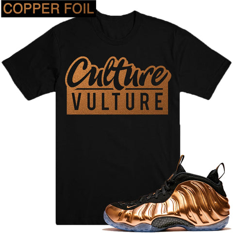Dapper Sam Culture Vulture Copper Foams Tee