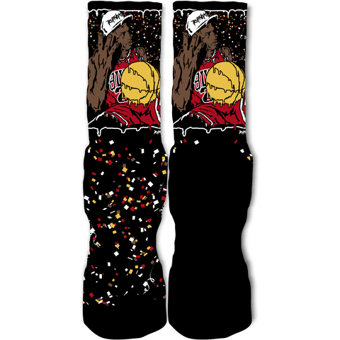 Rufnek Hardware Three's Up Championship Pack 8's Socks