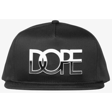 Dope Logo Two Tone Medal Snapback