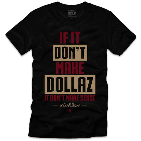 Retro Kings Clothing Dollaz Maroon Foams Tee