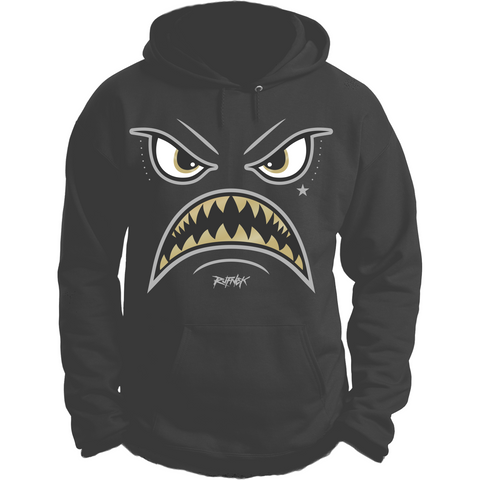 Rufnek Hardware Warface Dark Grey 12s Hoodie