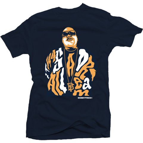 Bobby Fresh Dream Big Midnight Navy 11 Lows Tee