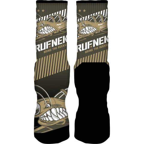 Rufnek Hardware Bring the Ruckus Take Flight 5s Socks