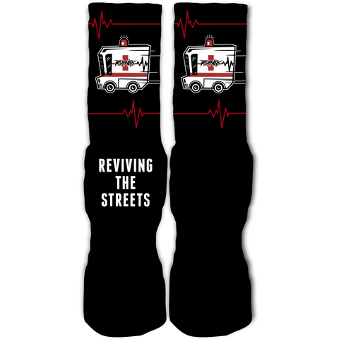 Rufnek Hardware Reviving the Streets Flu Game 12's Socks