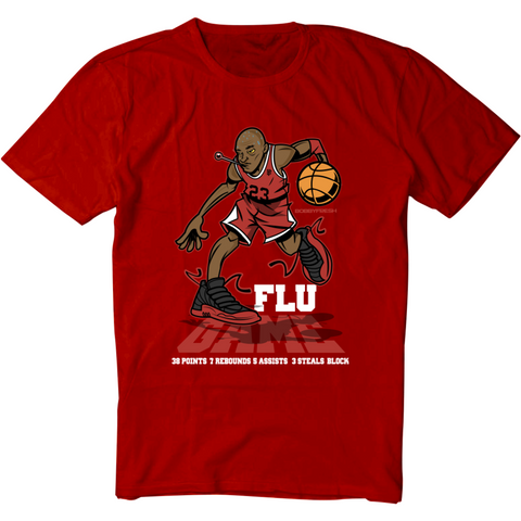 Bobby Fresh Flu Game 12's Tee