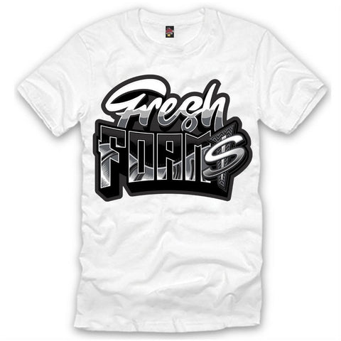 The Fresh I Am Clothing Fresh Foam$ Silver Surfer Foamposite Tee