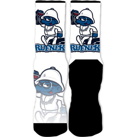 Rufnek Hardware Hip Hop Smurf French Blue 12's Socks