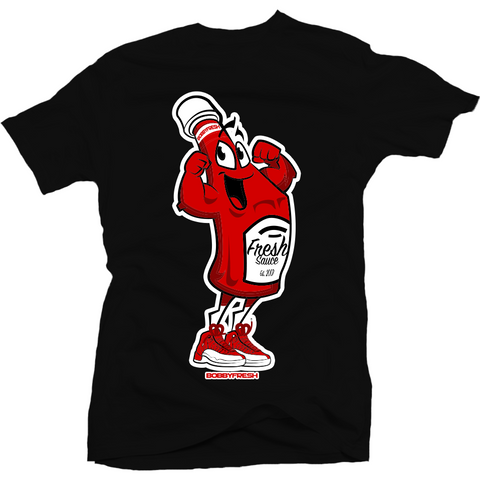 Bobby Fresh Fresh Sauce Gym Red 12's Tee