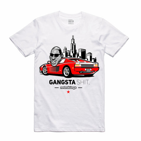 Retro Kings Clothing Gangsta Shit Candy Cane 14s Tee